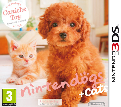 Nintendogs + Cats - Caniche Toy y nuevos amigos 3DS coverM (ADCP)
