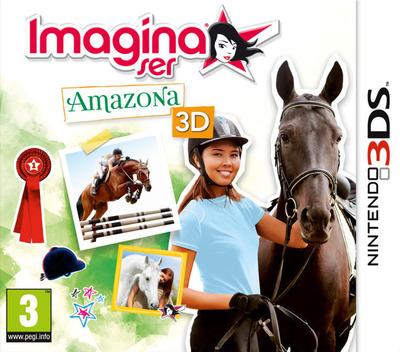 Imagina ser - Amazona 3D 3DS coverM (AHSP)