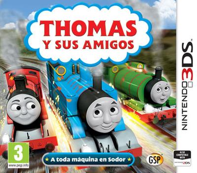 Thomas y sus amigos - A toda máquina en Sodor 3DS coverM (BTBP)