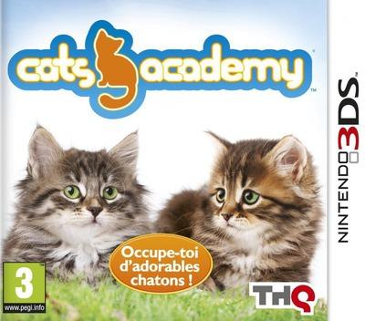 Cats Academy 2 3DS coverM (AP6P)