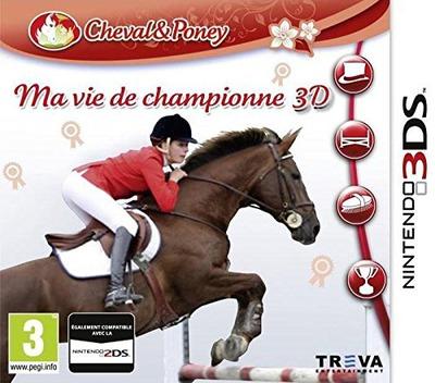 Ma Vie de Championne 3D 3DS coverM (ARSP)