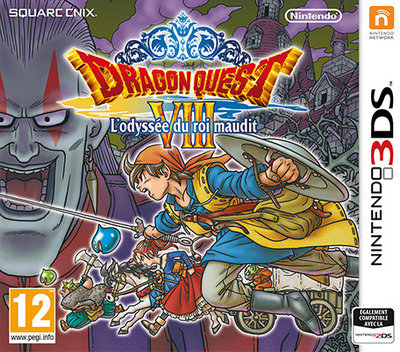 Dragon Quest VIII : L'Odyssée du Roi Maudit 3DS coverM (BQ8P)