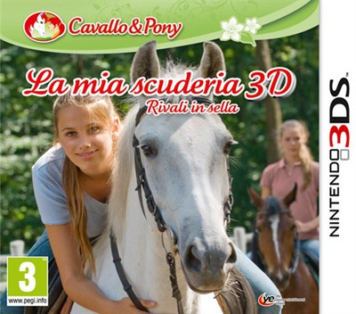La Mia Scuderia 3D - Rivali In Sella 3DS coverM (AMUP)