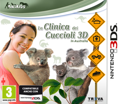 La Clinica dei Cuccioli 3D in Australia 3DS coverM (BM4P)