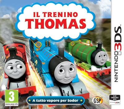 Il Trenino Thomas - A tutto vapore per Sodor 3DS coverM (BTBP)