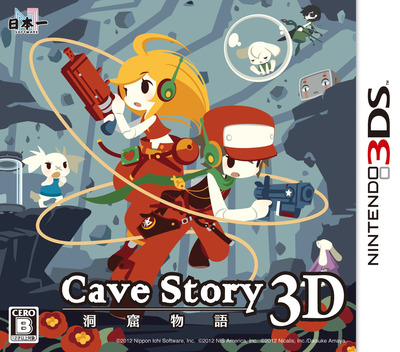 洞窟物語3D 3DS coverM (ACVJ)
