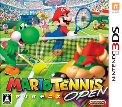 マリオテニス オープン 3DS coverM (AGAJ)