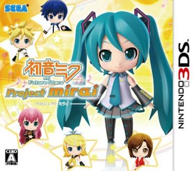 初音ミク and Future Stars Project mirai 3DS coverM (AM9J)