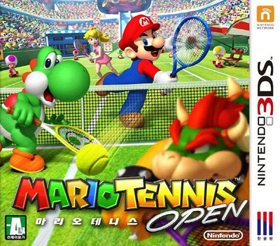 마리오 테니스 오픈 3DS coverM (AGAK)