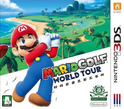 마리오 골프 월드 투어 3DS coverM (AJ3K)