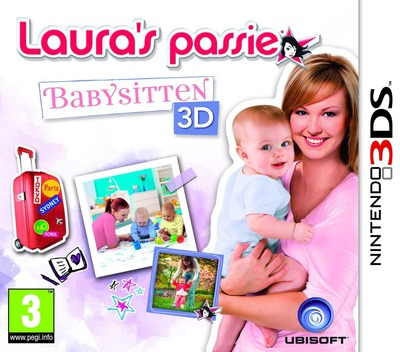 Laura's Passie - Babysitten 3D 3DS coverM (ABAP)