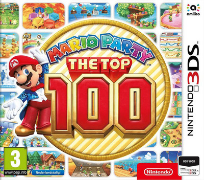 Mario Party: The Top 100 3DS coverM (BHRP)