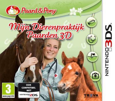 Mijn Dierenpraktijk Paarden 3D 3DS coverM (BP9P)