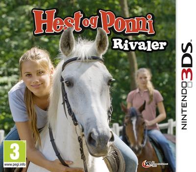 Hest og Ponni - Rivaler 3DS coverM (AMUP)