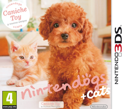 Nintendogs + Cats - Caniche Toy e Novos Amigos 3DS coverM (ADCP)