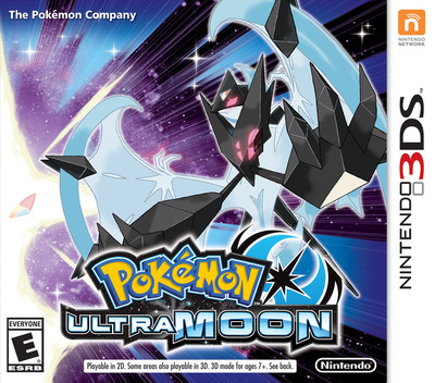 Pokémon Ultra Moon 3DS coverM (A2BE)