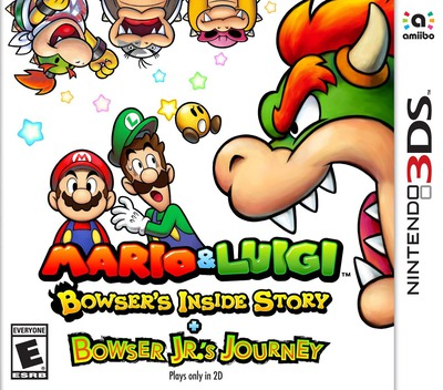 Mario & Luigi: Bowser's Inside Story + Bowser Jr.'s Journey 3DS coverM (A3RE)