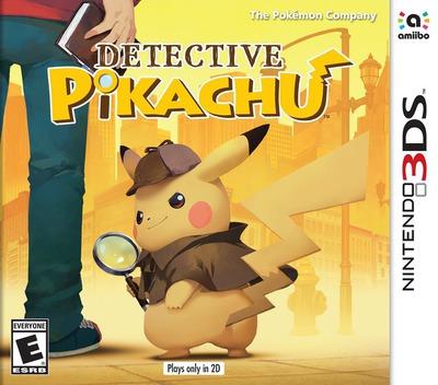 Detective Pikachu 3DS coverM (A98A)