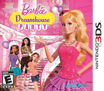 Barbie Dreamhouse Party 3DS coverM (AAVE)