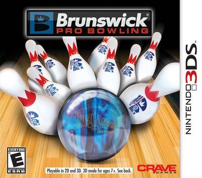 Brunswick Pro Bowling 3DS coverM (ABWE)