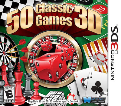 50 Classic Games 3D 3DS coverM (AC5E)