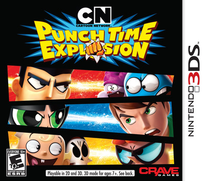 Cartoon Network - Punch Time Explosion 3DS coverM (ACNE)