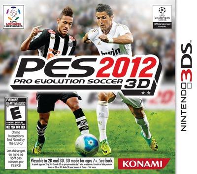 Pro Evolution Soccer 2012 3D 3DS coverM (AE2E)
