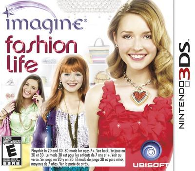Imagine - Fashion Life 3DS coverM (AF3E)