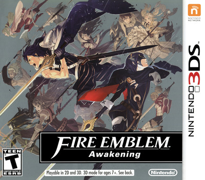 Fire Emblem - Awakening 3DS coverM (AFEE)
