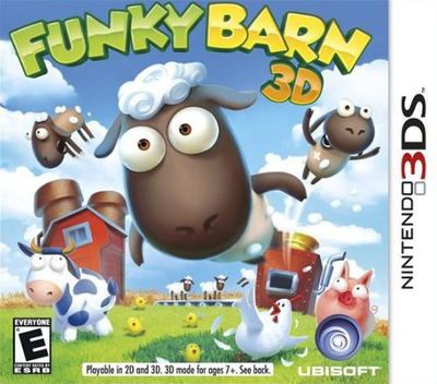 Funky Barn 3D 3DS coverM (AFME)