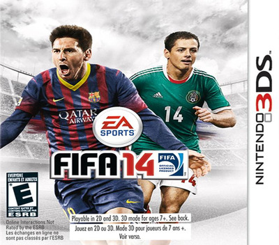 FIFA 14 - Legacy Edition 3DS coverM (AFYE)
