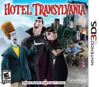Hotel Transylvania 3DS coverM (AH8E)