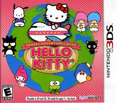 Travel Adventures with Hello Kitty 3DS coverM (AHKE)