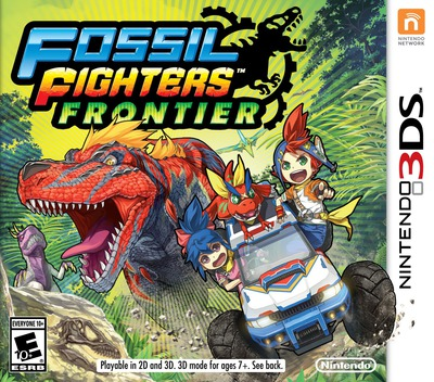 Fossil Fighters - Frontier 3DS coverM (AHRE)
