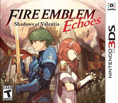 Fire Emblem Echoes: Shadows of Valentia 3DS coverM (AJJE)