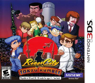 River City: Tokyo Rumble 3DS coverM (AK2E)