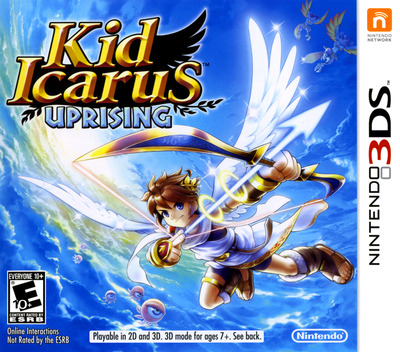 Kid Icarus - Uprising 3DS coverM (AKDE)
