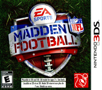 Madden NFL Football 3DS coverM (AMDE)