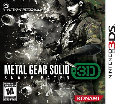 Metal Gear Solid 3D - Snake Eater 3DS coverM (AMGE)