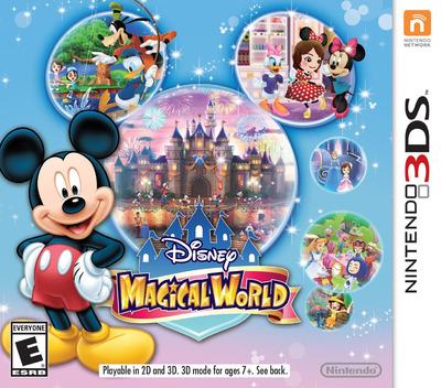 Disney Magical World 3DS coverM (AMQE)