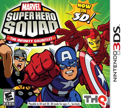 Marvel Super Hero Squad - The Infinity Gauntlet 3DS coverM (AMSE)