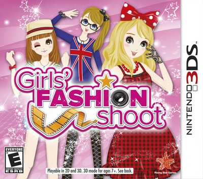 Girls' Fashion Shoot 3DS coverM (ANLE)