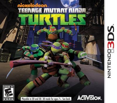 Nickelodeon Teenage Mutant Ninja Turtles 3DS coverM (ANYE)