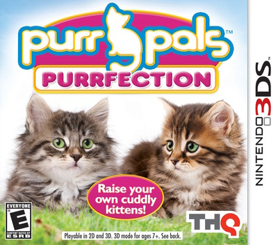 Purr Pals - Purrfection 3DS coverM (AP6E)