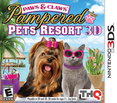Paws & Claws - Pampered Pets Resort 3D 3DS coverM (AP8E)
