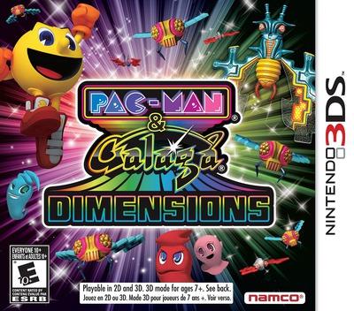 Pac-Man & Galaga Dimensions 3DS coverM (APGE)