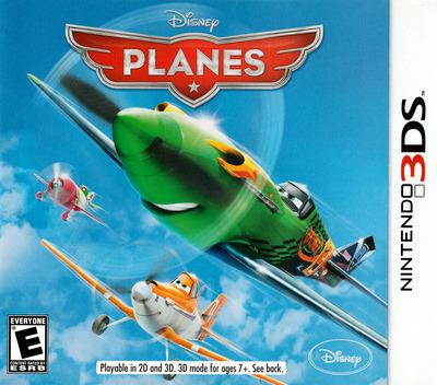 Disney Planes 3DS coverM (APNE)