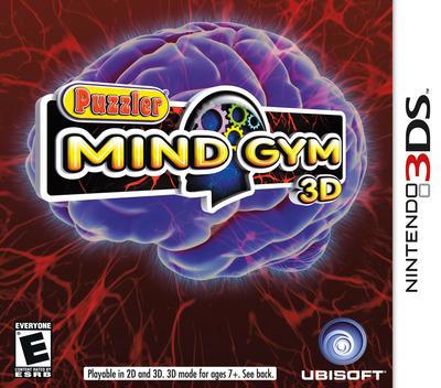 Puzzler Mind Gym 3D 3DS coverM (APUE)