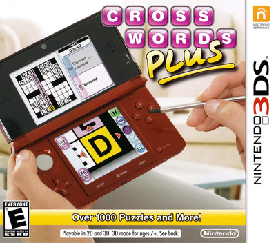 Crosswords Plus 3DS coverM (AQ8E)