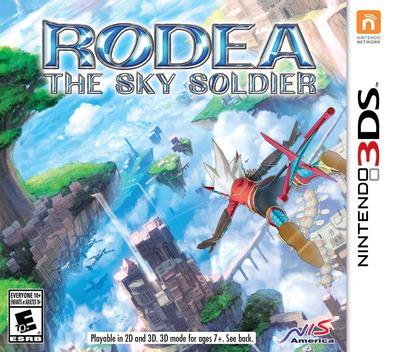 Rodea - The Sky Soldier 3DS coverM (AR6E)